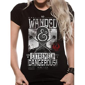 T-Shirt Fantastic Beasts - Wanded Poster (Unisex)