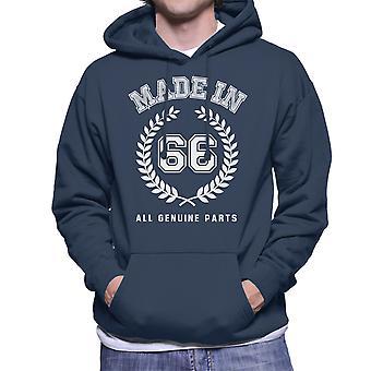 Made In 66 All Genuine Parts Men's Hooded Sweatshirt