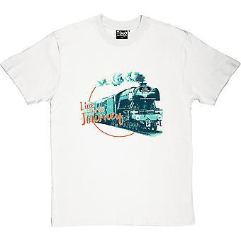 Live For The Journey White Men's T-Shirt
