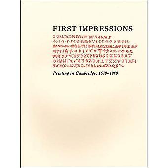 Erste Eindrücke - Drucken in Cambridge, 1639. Eine Ausstellung in der Houghton Library und der Harvard Law School...