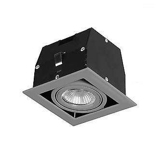 Forlight - Cardan Single Grey Recessed Downlight TC-1400-GRI
