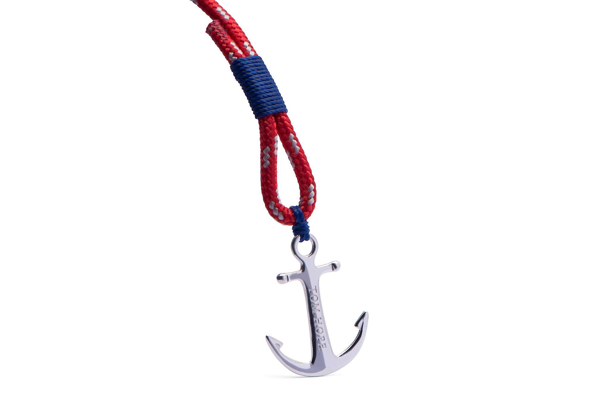 Tom Hope Sterling Silver Arctic Blue Bracelet Medium TM0022