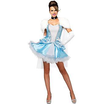 Miss Cinderella Halloween puku naisille
