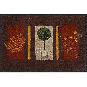 Salone Leone terra aria stuoia de Provence 50 x 75 cm. sporcizia lavabile tappetino