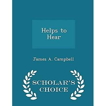 Permet d'entendre les érudits choix édition par Campbell & A. James