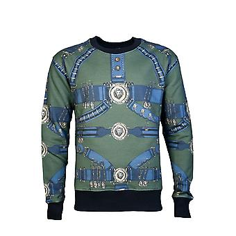Versus Versace Sweatshirt Jumper Bu90627 Bj10394