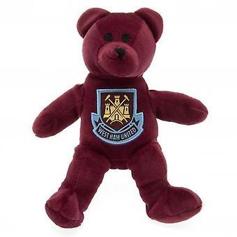وست هام يونايتد FC الرسمية كريست تصميم الدب
