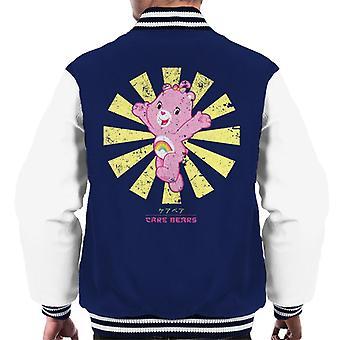 Care Bears Retro Japanese Men's Varsity Jacket