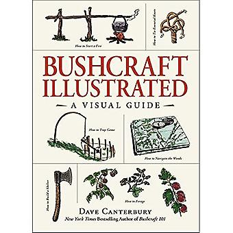 Bushcraft illustrert: en visuell guide (Bushcraft)