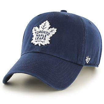 47 palo säädettävä Cap - CLEAN UP Toronto Maple Leafs navy