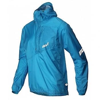 Inov8 At/c Stormshell Half Zip Mens Running Jacket Blue