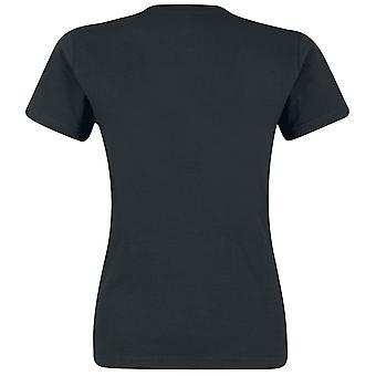 Justice League Womens/Ladies Heroine Pop Art T-Shirt