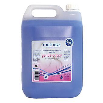 Mutneys gentil cachorrinho hipoalergênico Shampoo 5L