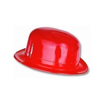Melone Hut Kunststoff rot