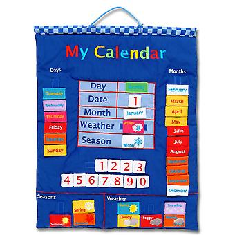 My Calendar Blue Wall Hanging
