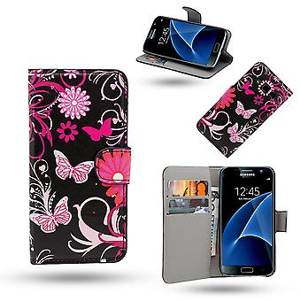 Samsung Galaxy S8-Leder-Etui/Abdeckung