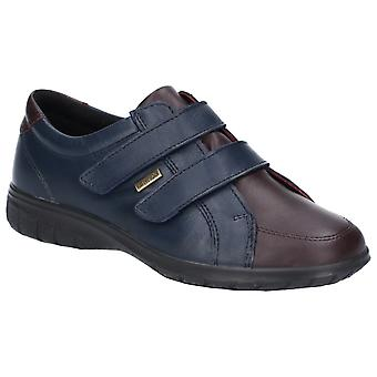 Cotswold Womens Haythrop Tough Fixaing Shoe Navy/Bordo