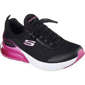 Skechers Womens Skech-Air Stratus-Sparkling W Sparkle Mesh Laced Slip On Trainer