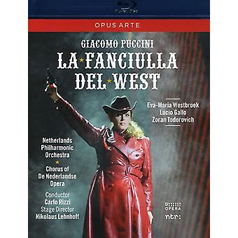 G. Puccini - La Fanciulla Del West [BLU-RAY] USA import