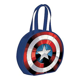 Marvel Captain America Shield ronde gerecycled shopper Tote