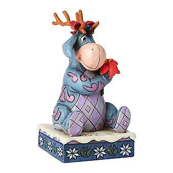 Disney Eeyore 'Winter Wonders'  Christmas Figurine