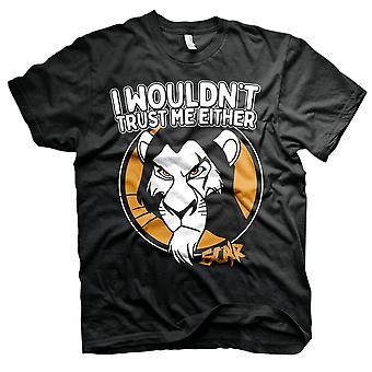 Menn ' s Lion King Scar ' jeg ville ' t stol på meg enten ' t-skjorte