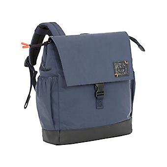 Lassig Little One & Me Backpack Small Navy Reflective Children's Backpack - 28 cm - Blue (Blau)