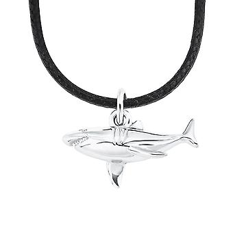 s.Oliver Jewel Kids and Teens Chain Silver Nylon Shark 2026058