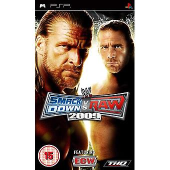 WWE Smackdown vs. Raw 2009 (PSP) - New