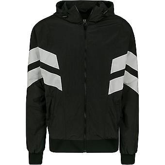 Urban Classics Men's Training Jacket Crinkle Panel