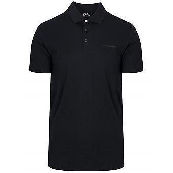 Lagerfeld Lagerfeld Black Polo Shirt
