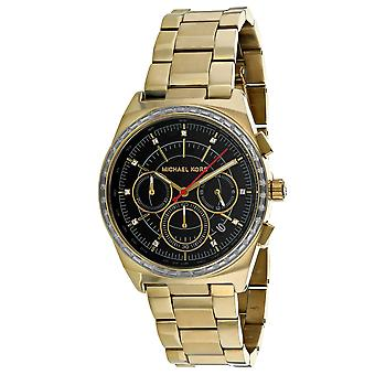 Michael Kors Women-apos;s Vail Black Dial Watch - MK6446