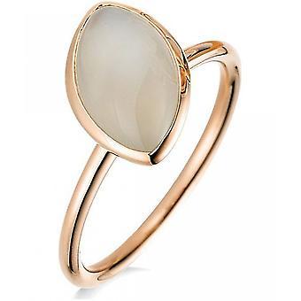 Gemstone Ring Moonstone 2.73 ct. Size 54