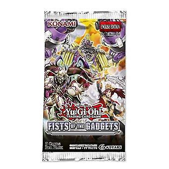 Yu-Gi-Oh Fist of The Gadgets Booster Packet (Pack of 24)