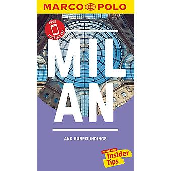Milan Marco Polo Pocket Travel Guide  with pull out map