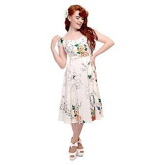 Collectif Vintage Women's Blossom Print Dolores Doll Dress