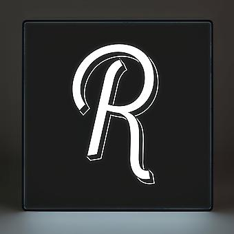 R Alphabet Lightbox