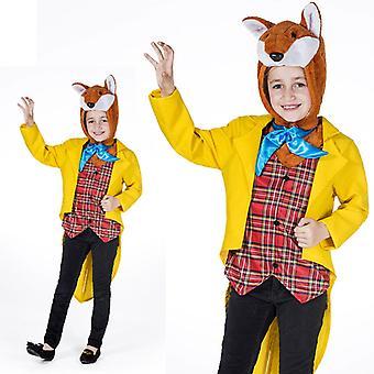 Mr. Fox gentleman Fox costume fairytale children kids costume Fox costume