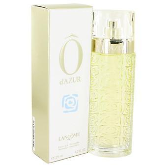 O D'azur Eau De Toilette Spray By Lancome 483398