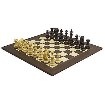 The Lemington Rosewood Palisander Chess Set