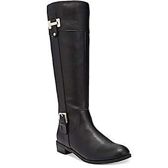 Karen Scott DELIEE breed kalf Tall Boots zwart maat 6W