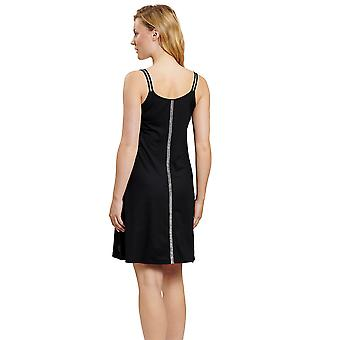 Féraud 3205059-10995 Women's Black Beach Dress