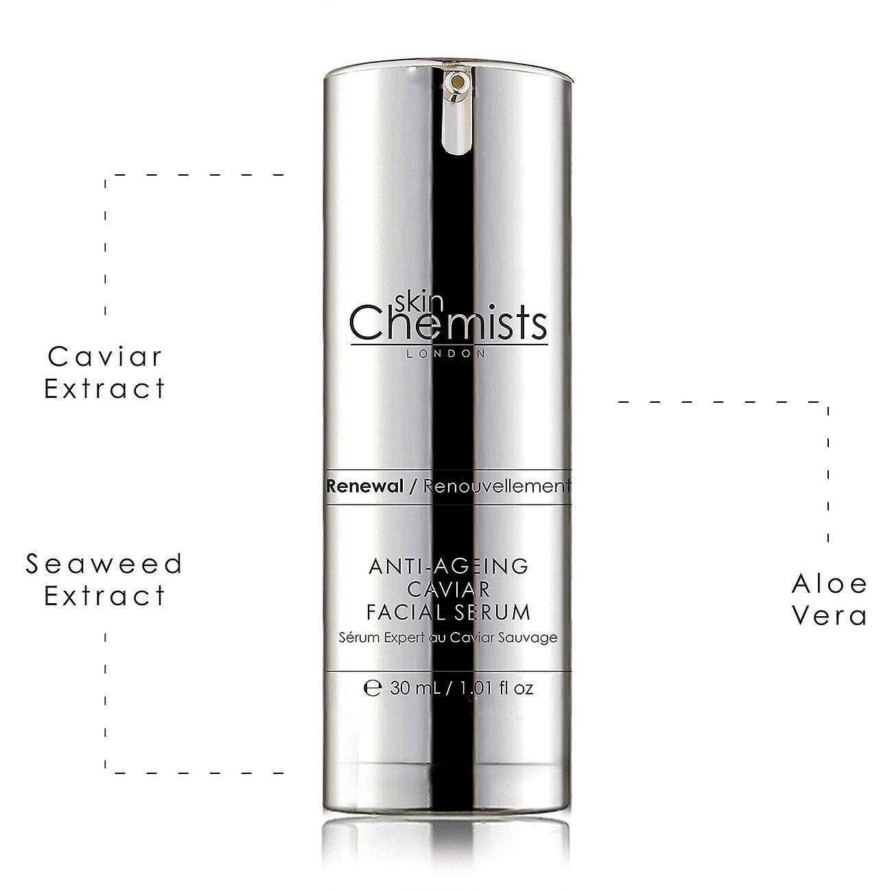 Anti-ageing caviar facial serum