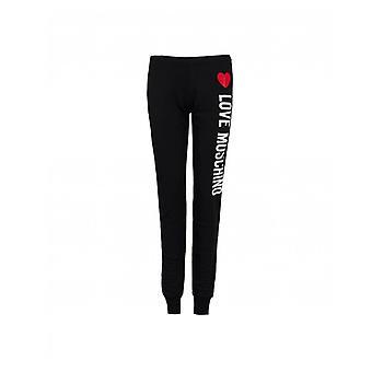 Liebe Moschino vertikale Logo Jogginghose
