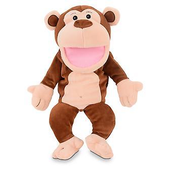 Marioneta de mano de mono
