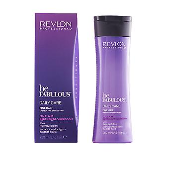 Revlon Professional Be Fabulous CREAM Lighweight Conditioner Tägliche Pflege 250ml feines Haar