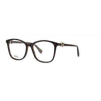 Fendi FF0300 086 Dark Havana Glasses