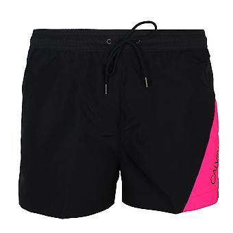 Calvin klein men's black swim shorts