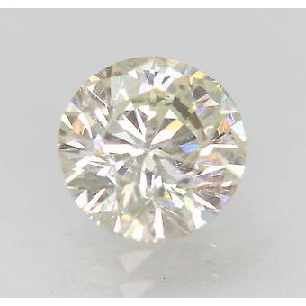 Zertifiziert 1.00 Karat H VS2 Round Brilliant Enhanced Natural Loose Diamond 6.29mm