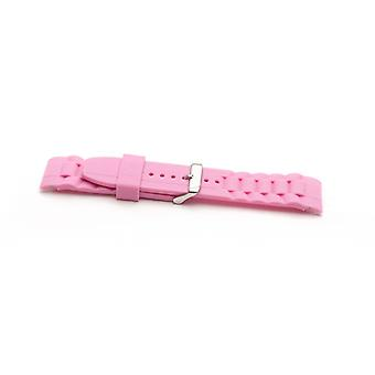 Authentic ice watch strap pink with stainless steel buckle sizes 17mm, 20mm and 22mm